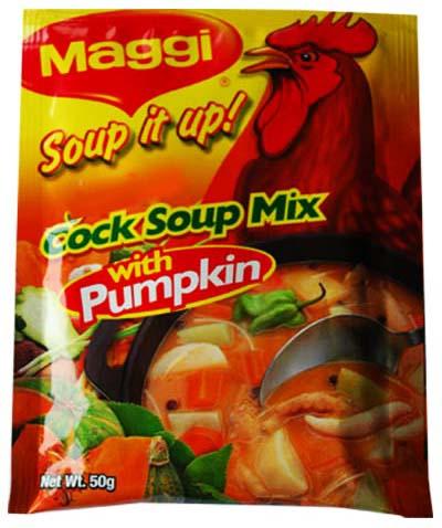 Maggi cock soup mix