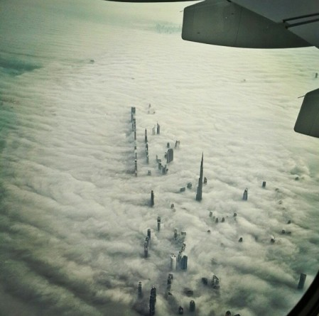Dubai from air